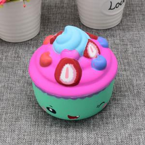 Simulation Toy Ice Cream Cup Slow Rising Squishy Food -