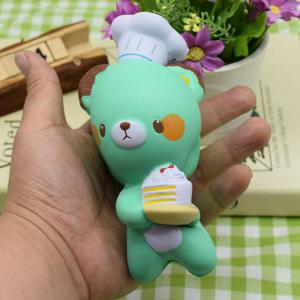 Simulation Kitchener Bear Slow Rising Squishy Toy -