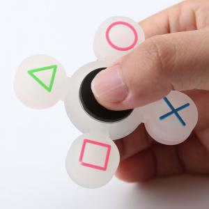 Symbole mathématique Quad-bar Silicone Fidget Spinner Fiddle Toy -