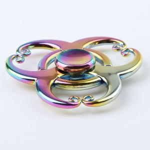 Colorful EDC Fidget Metal Spinner Anti-stress Toy - COLORMIX
