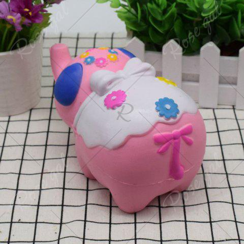 Outfits Simulation Elephant Animal Slow Rising Squishy Toy - PINK  Mobile