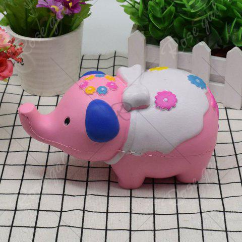 Best Simulation Elephant Animal Slow Rising Squishy Toy - PINK  Mobile