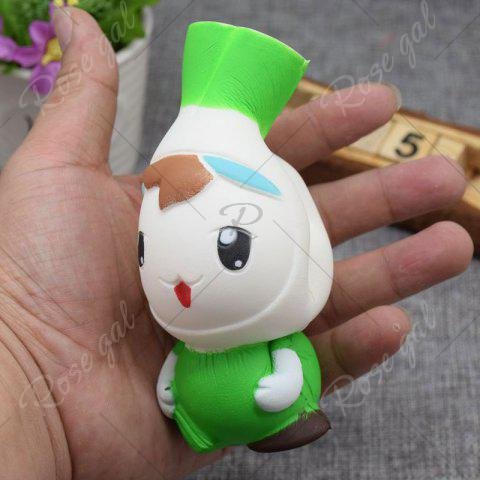 Cheap Creative Simulation Toy Slow Rising Squishy Onion Head - GREEN  Mobile
