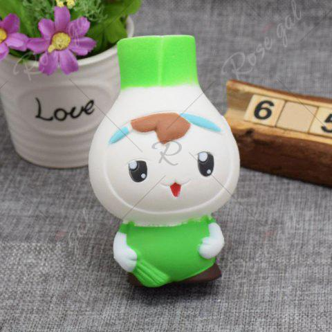 Online Creative Simulation Toy Slow Rising Squishy Onion Head - GREEN  Mobile