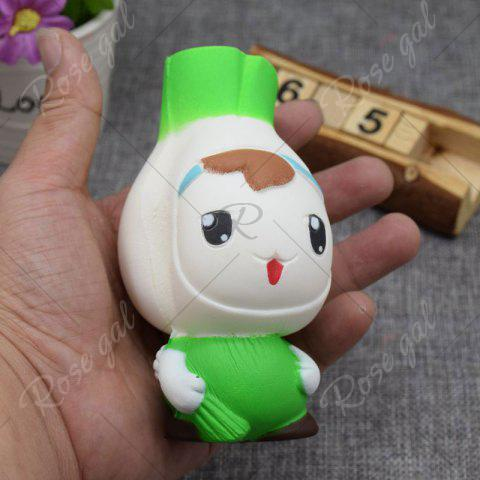 Affordable Creative Simulation Toy Slow Rising Squishy Onion Head - GREEN  Mobile