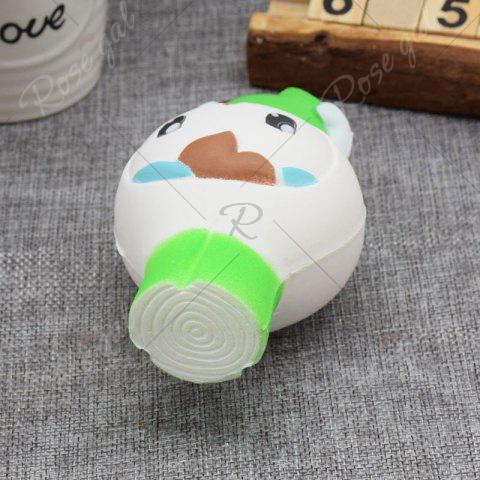 Shop Creative Simulation Toy Slow Rising Squishy Onion Head - GREEN  Mobile