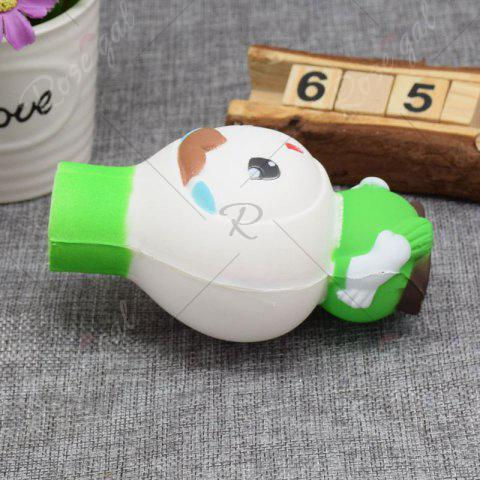 Trendy Creative Simulation Toy Slow Rising Squishy Onion Head - GREEN  Mobile