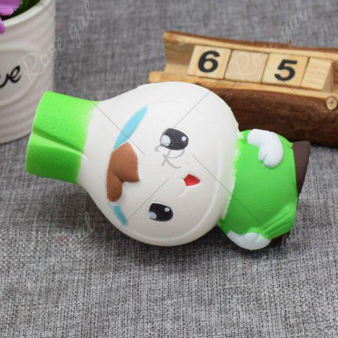 Unique Creative Simulation Toy Slow Rising Squishy Onion Head - GREEN  Mobile