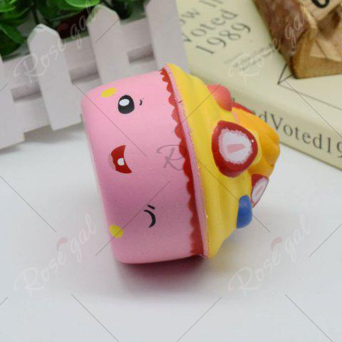 New Simulation Toy Ice Cream Cup Slow Rising Squishy Food - PINK  Mobile