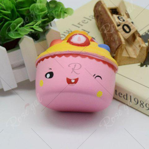 Outfits Simulation Toy Ice Cream Cup Slow Rising Squishy Food - PINK  Mobile