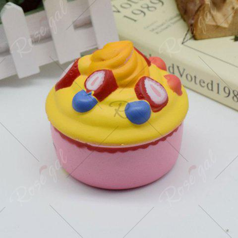 Latest Simulation Toy Ice Cream Cup Slow Rising Squishy Food - PINK  Mobile
