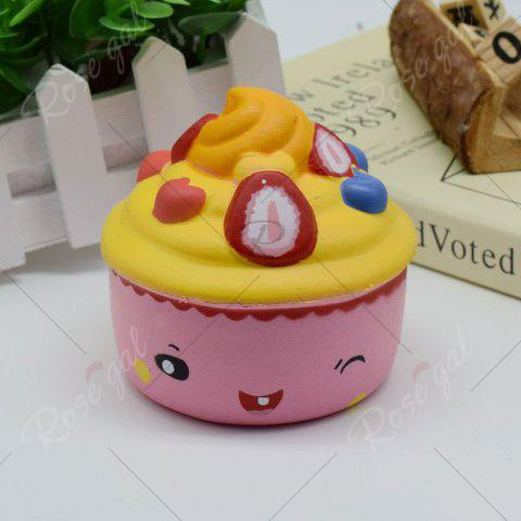 Best Simulation Toy Ice Cream Cup Slow Rising Squishy Food - PINK  Mobile