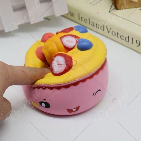 Hot Simulation Toy Ice Cream Cup Slow Rising Squishy Food - PINK  Mobile