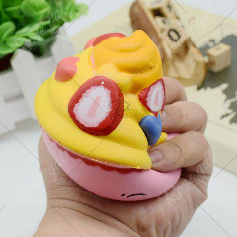 Shop Simulation Toy Ice Cream Cup Slow Rising Squishy Food - PINK  Mobile