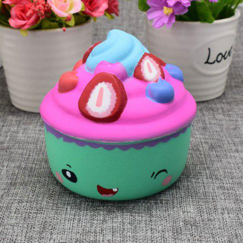 Best Simulation Toy Ice Cream Cup Slow Rising Squishy Food GREEN