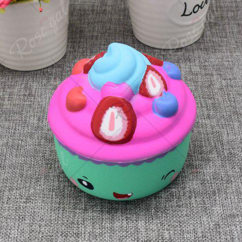 Outfits Simulation Toy Ice Cream Cup Slow Rising Squishy Food - GREEN  Mobile