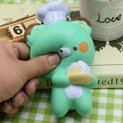 Best Simulation Kitchener Bear Slow Rising Squishy Toy - GREEN  Mobile