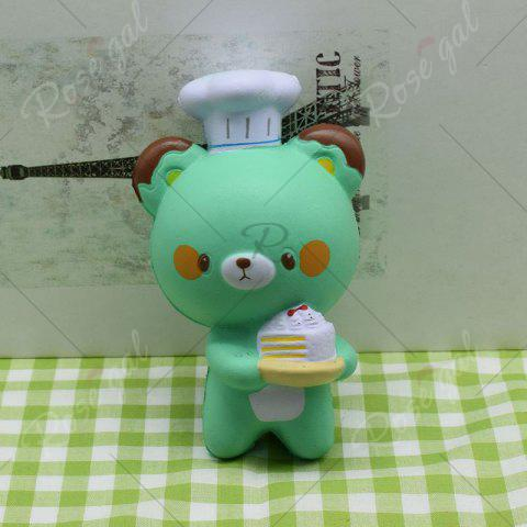 Affordable Simulation Kitchener Bear Slow Rising Squishy Toy - GREEN  Mobile
