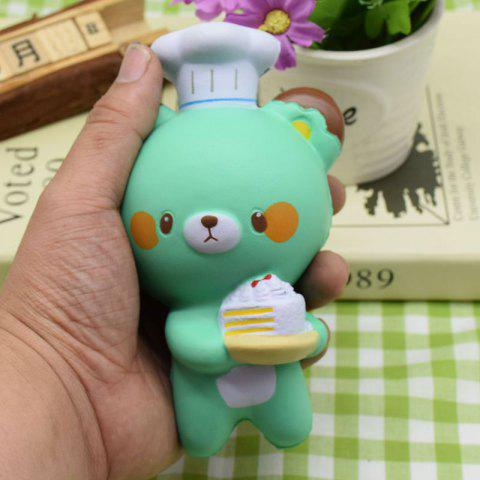 Fashion Simulation Kitchener Bear Slow Rising Squishy Toy