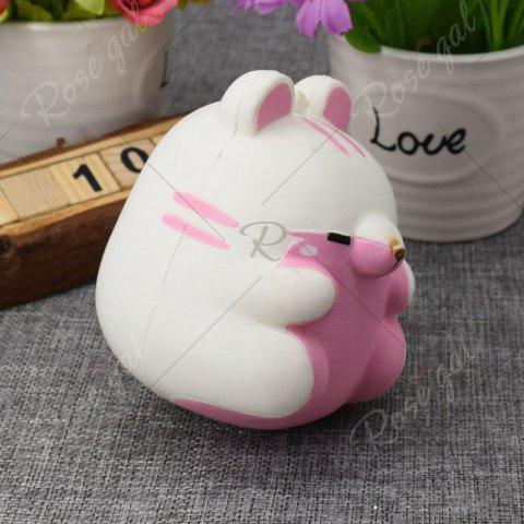 Fashion Simulation Hamster Slow Rising Squishy Toy - WHITE  Mobile