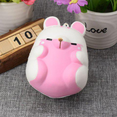Unique Simulation Hamster Slow Rising Squishy Toy
