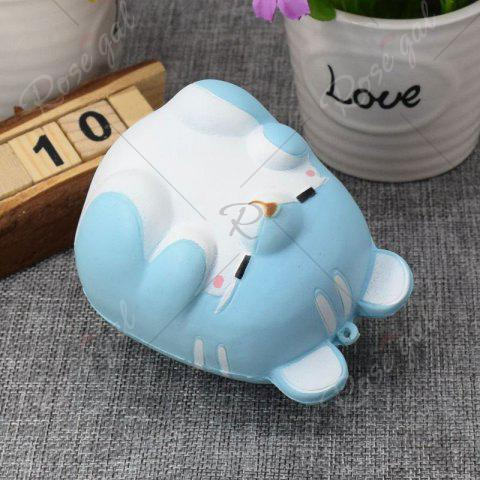 Fashion Simulation Hamster Slow Rising Squishy Toy - BLUE  Mobile