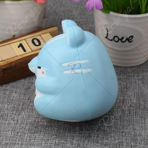 Cheap Simulation Hamster Slow Rising Squishy Toy - BLUE  Mobile