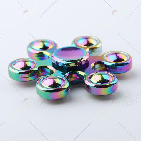 Online Six-bar Colorful EDC Fidget Metal Spinner Stress Relief Toy - COLORMIX  Mobile