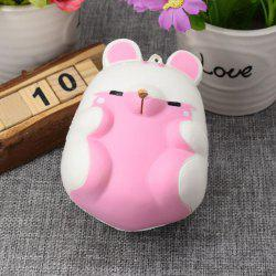 Simulation Hamster Slow Rising Squishy Toy