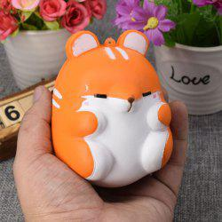 Simulation Hamster Slow Rising Squishy Toy - Orange