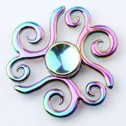 Propitious Cloud Colorful EDC Fidget Metal Spinner Anti-stress Toy - COLORMIX