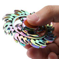 Fire Wheel Colorful EDC Fidget Metal Spinner Anti-stress Toy - Multicolore