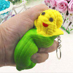 Slow Rebound Simulation Squishy Toy Corn Pendant