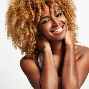 Medium Side Bang Shaggy Afro Kinky Curly Synthetic Wig