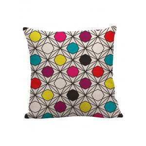 Linen Geometric Pattern Pillow Case