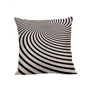 Zebra Stripe Sofa Decorative Linen Pillow Case