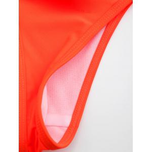 Tie Side String Swimming Thong Panties -