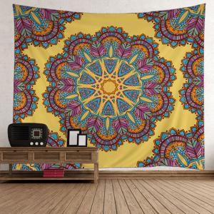 Bohemian Polyester Fabric Wall Hanging Tapestry - Colormix - W59 Inch * L79 Inch