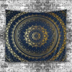 Boho Mandala Print Tapestry Wall Hanging Art Decor -