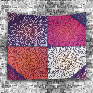 Bohemian Wall Art Mandala Eye Print Tapestry -