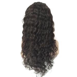 Partie gratuite Long Shaggy Deep Wave Lace Front Hair Hair Wig -