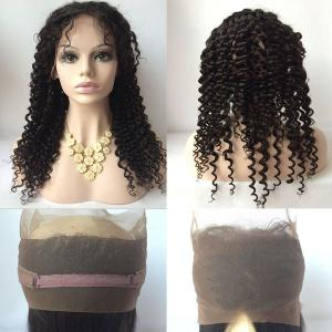 Long Free Part Deep Wave Lace Front Human Hair Wig