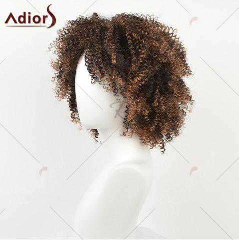 Outfit Shaggy Short Afro Kinky Curly Colormix Synthetic Wig - COLORMIX  Mobile