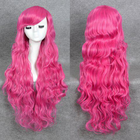 Chic Long Side Bang Layered Wavy My Little Pony Lolita Cosplay Synthetic Wig