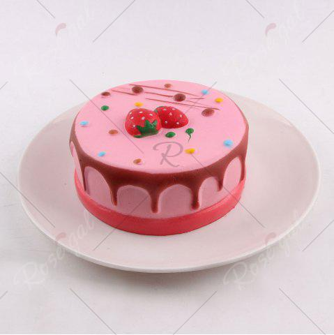 Best Strawberry Mousse Cake Simulation Food Squishy Toy - COLORFUL  Mobile