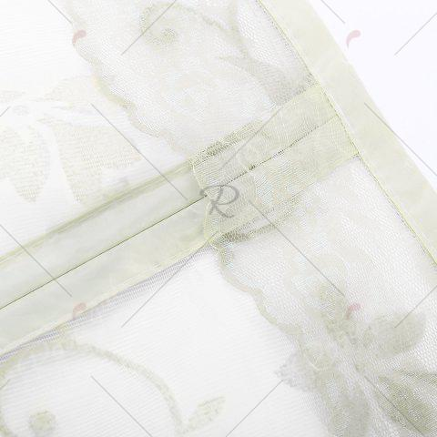 New Summer Anti Insect Mesh Breathable Magnetic Door Curtain - 90*210CM BEIGE Mobile