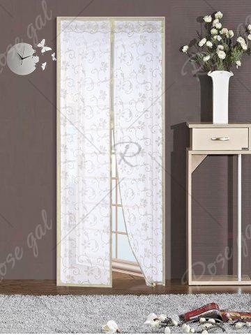 Outfits Summer Anti Insect Mesh Breathable Magnetic Door Curtain - 90*210CM BEIGE Mobile
