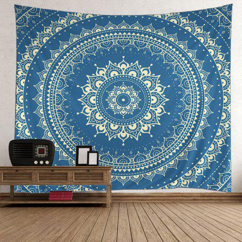 Shops Bohemian Wall Hanging Mandala Psychedelic Tapestry - 200*150CM LIGHT BLUE Mobile