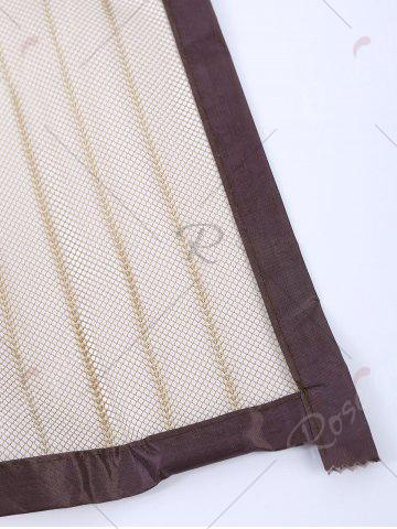 Cheap Insect prevention Mesh Magnetic Door Curtain - 90*210CM COFFEE Mobile