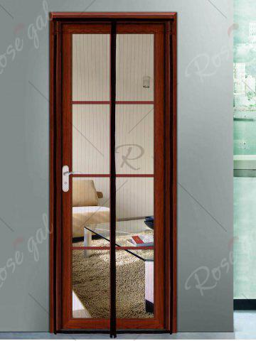Outfits Insect prevention Mesh Magnetic Door Curtain - 90*210CM COFFEE Mobile